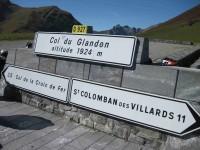 Col du Glandon (panneau)