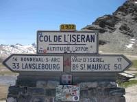 Col de l'Iseran (panneau)