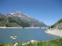 Barrage de Tignes (vue globale)