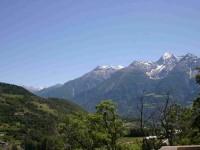 Quelque part pendant le tour du Mont-Blanc