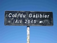 Col du Galibier (panneau)